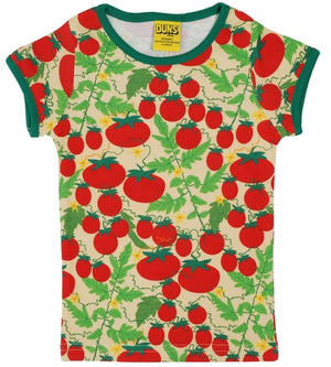Duns Sweden SS Tee - Tomatoes - Yellow
