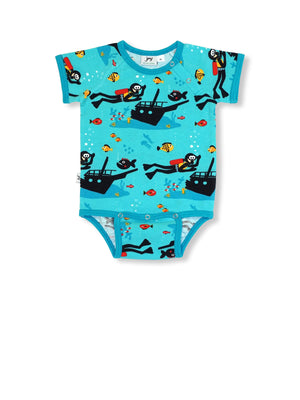 JNY - S/S Body Suit - Scuba