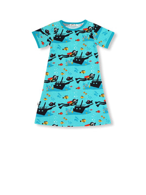 PRICE DROP * JNY - S/S Dress - Scuba