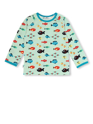 JNY - LS Tee - Swimming Fish