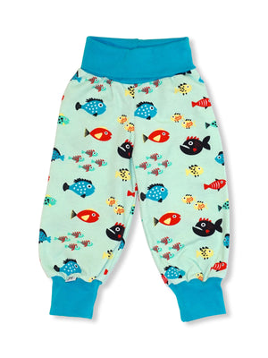 PRICE DROP * JNY - Comfy Pants - Swimming Fish
