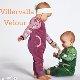 Villervalla - Velour - Playsuit - Smoothie