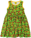 Duns Sweden Sleeveless Dress with Gathered Skirt - Wild Strawberries