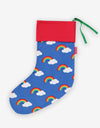 Toby Tiger - Organic Multi Rainbow Christmas Stocking
