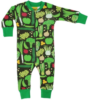 Duns Sweden Zip Suit - Eat Your Greens