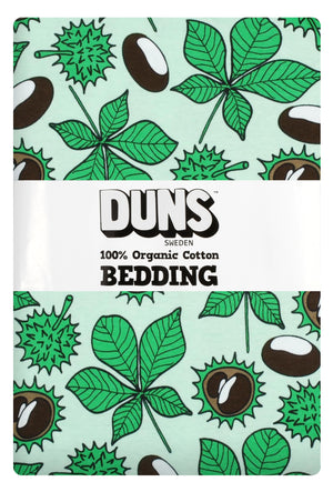 Duns - Bedding - NZ Single Duvet Set - Chestnut - Brook Green ** LAST ONE