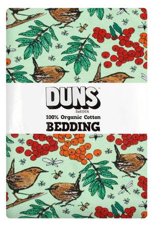 Duns - Bedding - NZ Single Duvet Set - Rowanberry - Green