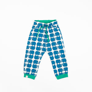 Alba - Lucca Baby Pants - Snorkel Blue Wanna Be An Animal