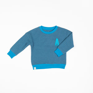 Alba - Silas Sweatshirt - Blue Steel