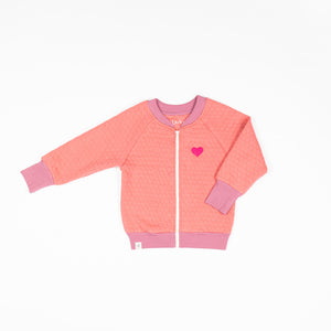 Alba - Alba Quilted Jacket - Tea Rose