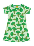 Duns Sweden SS dress - Broccoli