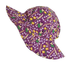 Duns Sweden - Sunhat - Meadow - Purple ** LAST ONE -  Baby
