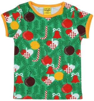 Duns Sweden SS Tee - Christmas Tree - Green