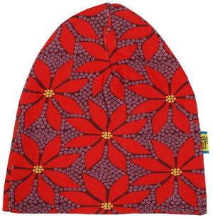 Duns Sweden - Double Layer Hat - Poinsettia - Wine