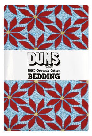 Duns - Bedding - NZ Single Duvet Set - Poinsettia Blue