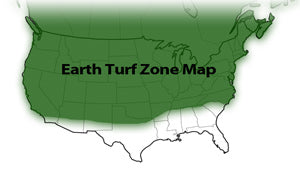 Earth Turf zone map