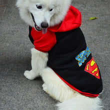 Load image into Gallery viewer, Dog Jumper/Hoodie - Superman - Black or Blue