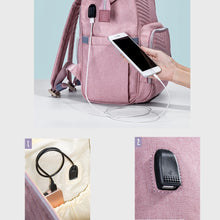 Load image into Gallery viewer, Multi-Function Baby Care Diaper Bag