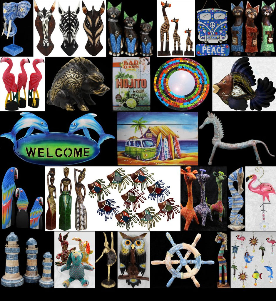 Wholesale Gifts - Wall Hangings, Statues, Bronze, Mirrors, Signs, Ornaments, Carvings