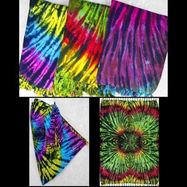 Radial Tie-Dye Sarongs-Sarongs-Peaceful People