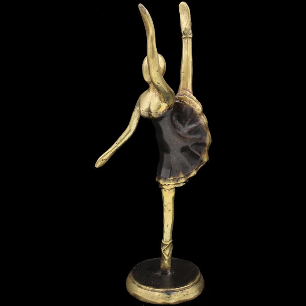 Bronze Ballerina Figurine-Handicrafts-Peaceful People
