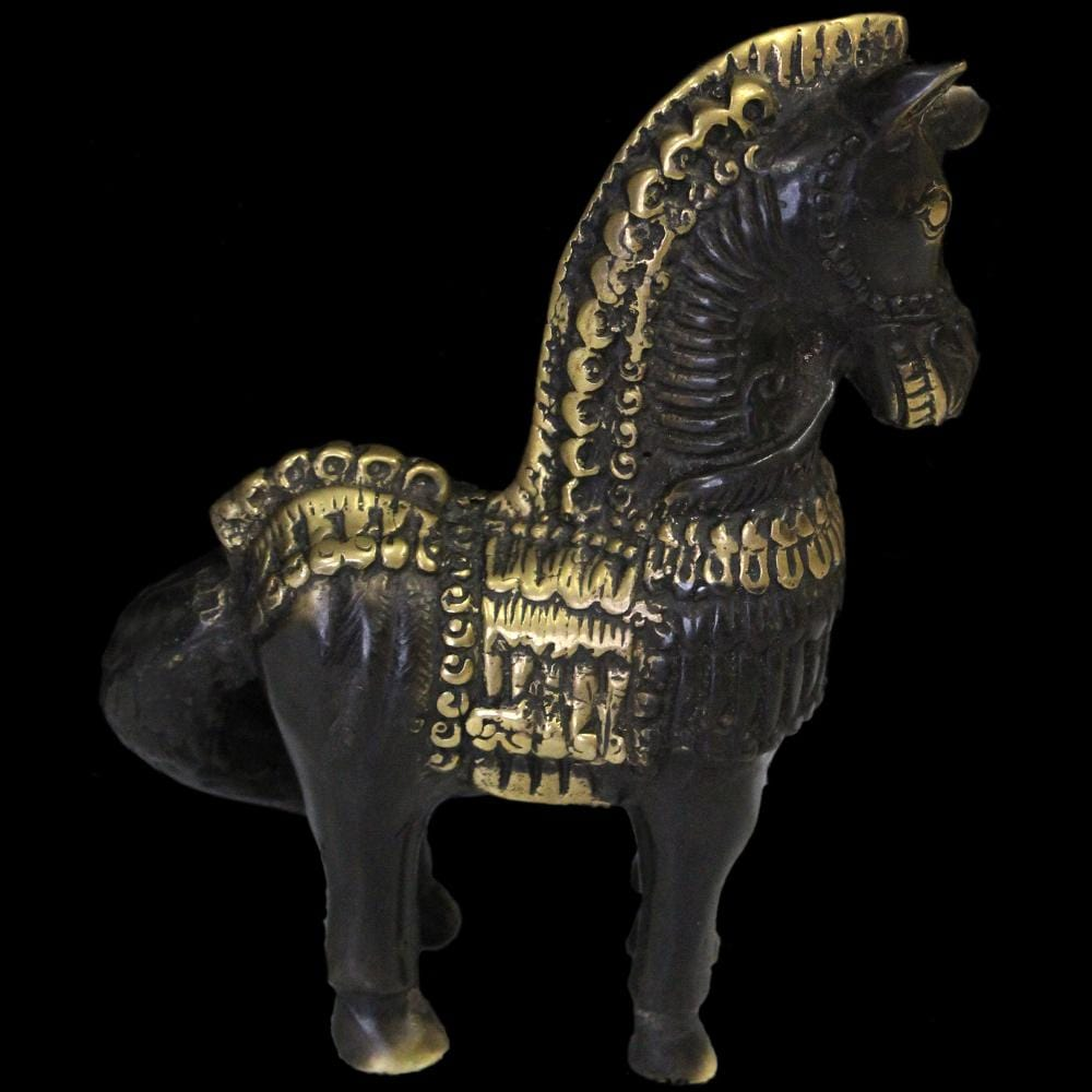 Bronze Horse Figurine-Handicrafts-Peaceful People