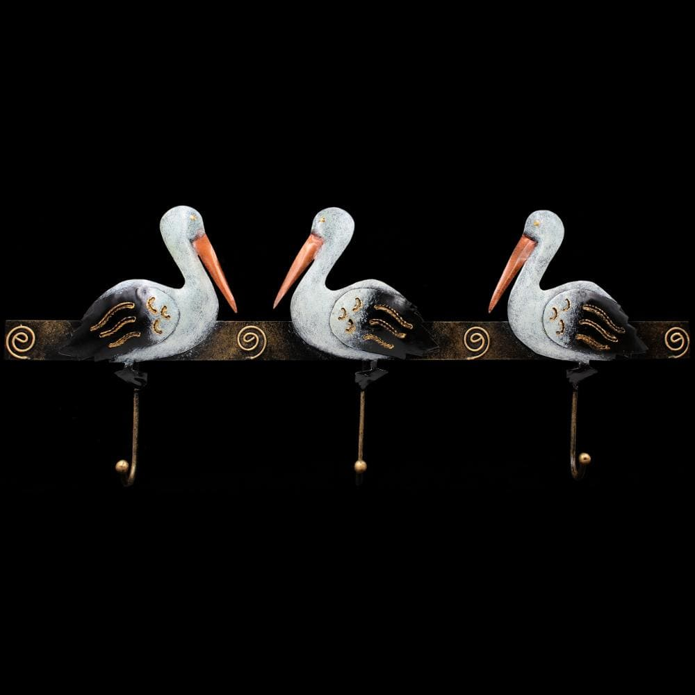 Pelican Hooks Wall Decor-Handicrafts-Peaceful People