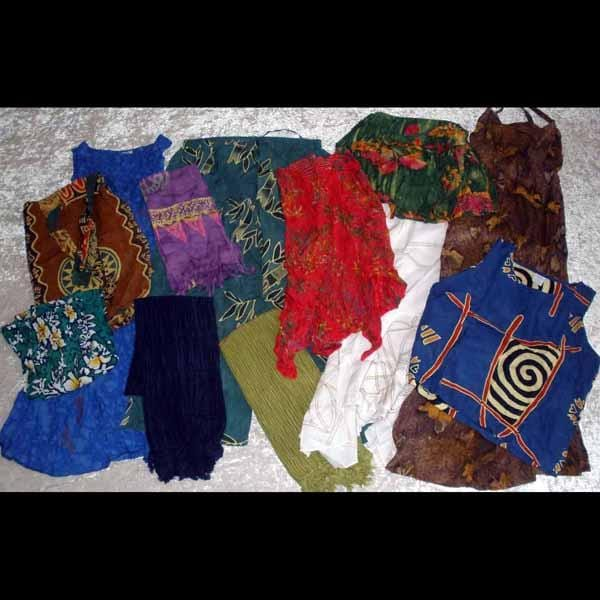 12 Piece Clothing Grab Bag ($3.00 per piece)-Special Deals (reduced prices)-Peaceful People