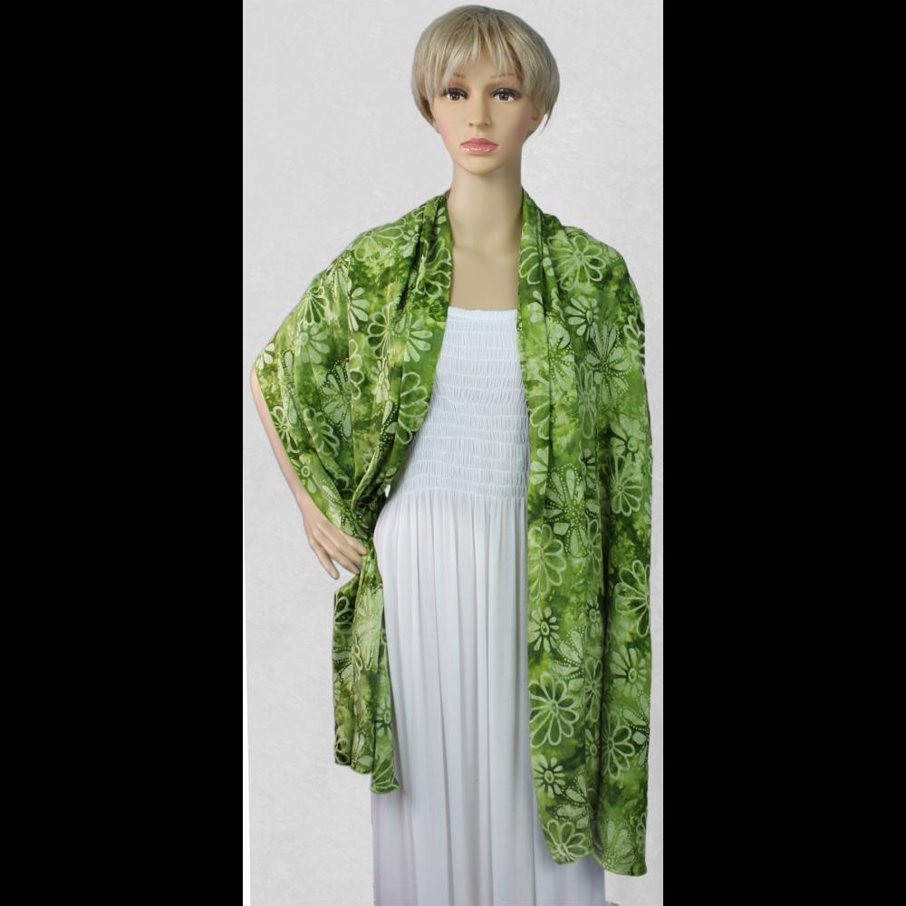 Premium Batik Wide Scarf/Shawl-Sarongs-Peaceful People