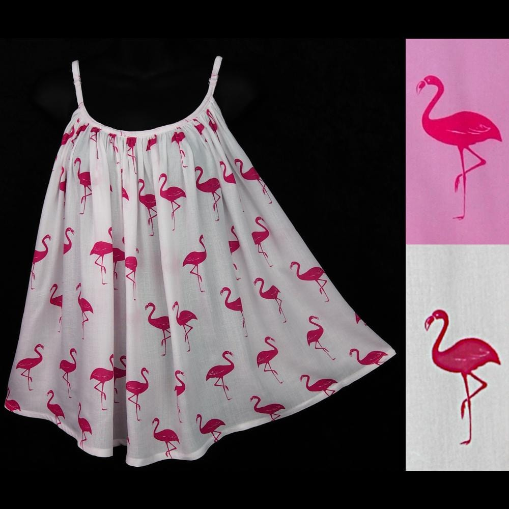 Flamingo Cami Top-Sarongs-Peaceful People