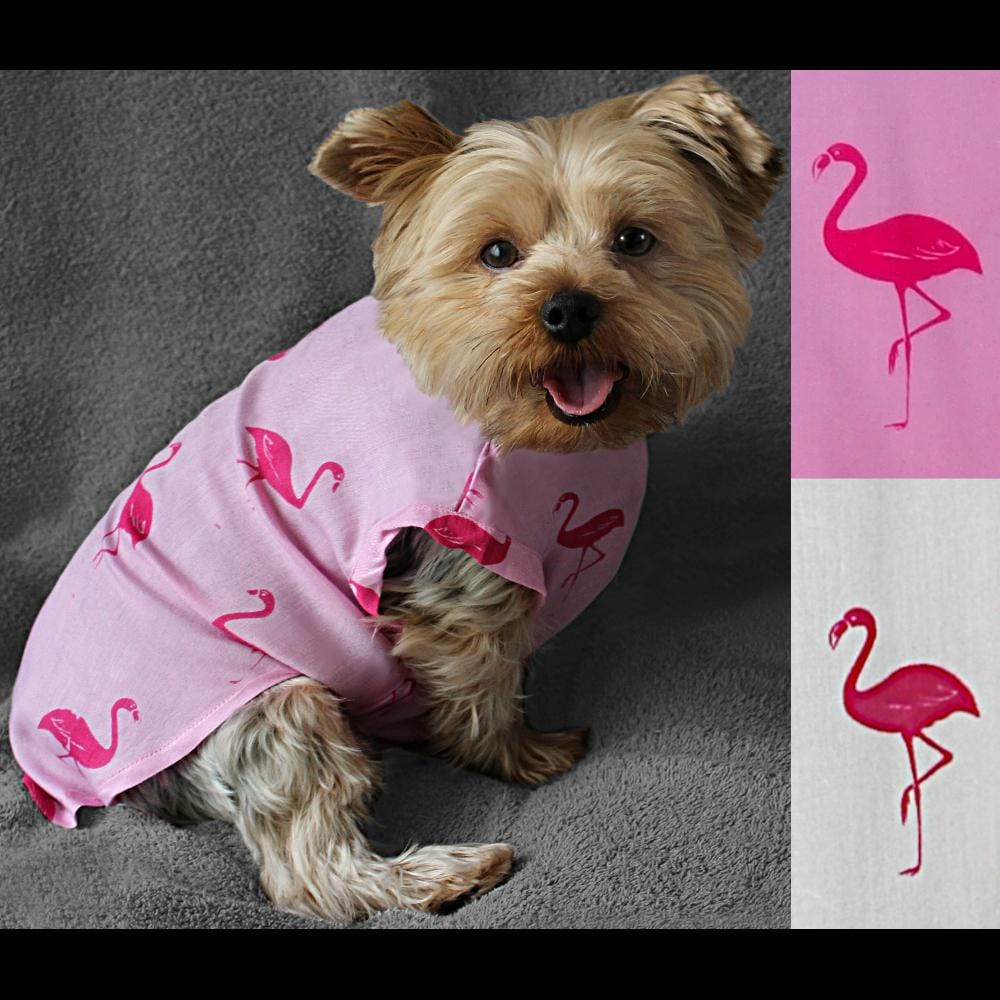 Dog's Flamingo Jumpsuit-Bags & Accessories-Peaceful People