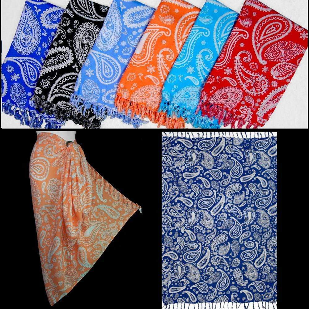 Paisley Style #2 Sarongs-Sarongs-Peaceful People