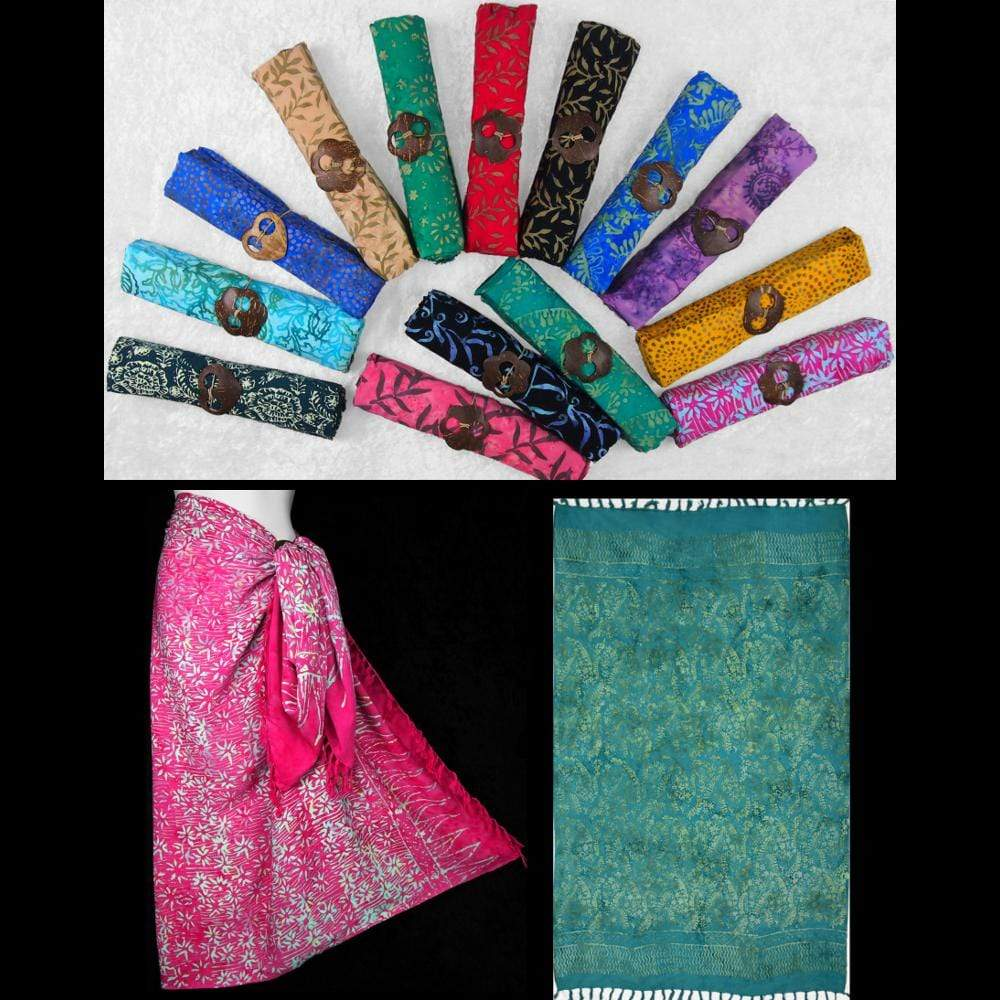 Premium Quality Batik Sarong & Sarong Clip-Sarongs-Peaceful People