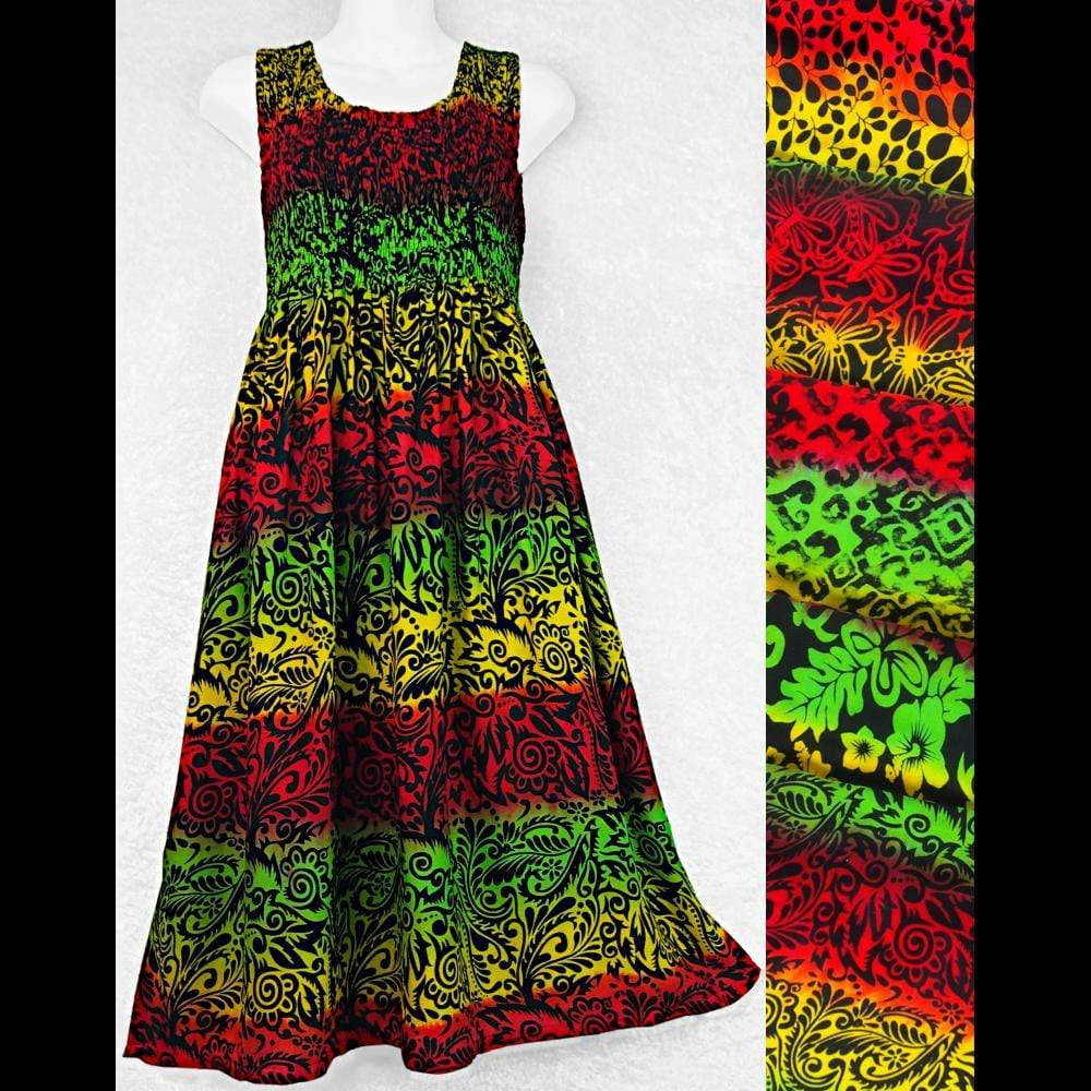 Rasta Tank Dress-Dresses-Peaceful People