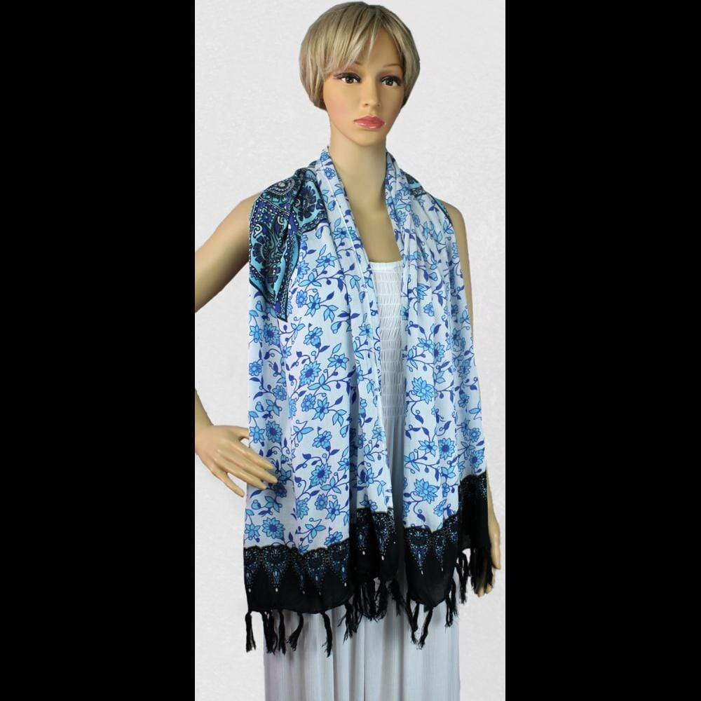Star Mandala Scarf/Shawl-Sarongs-Peaceful People