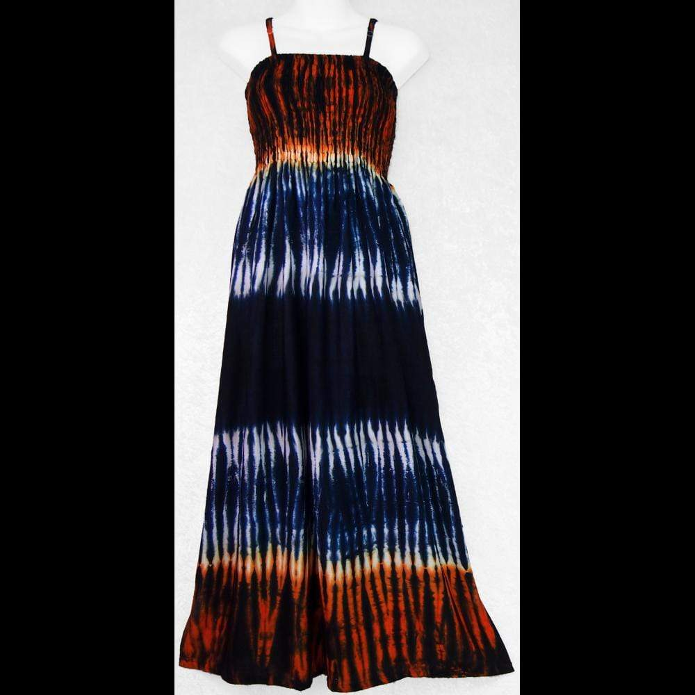 Tiger Sarong Dress-Dresses-Peaceful People