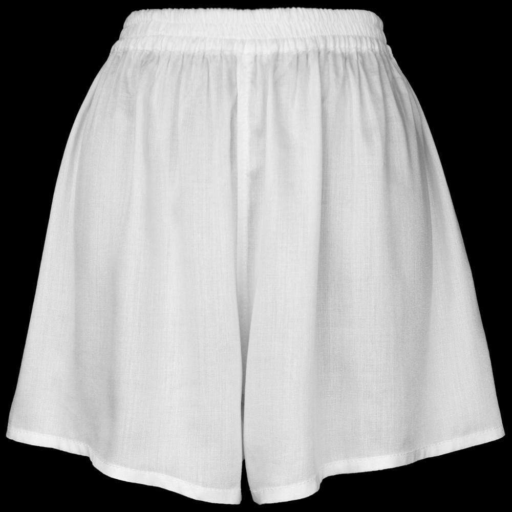White Women's Boxers-Pants-Peaceful People