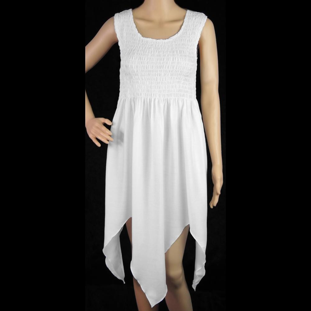 White Tank Fairy Dress-Dresses-Peaceful People