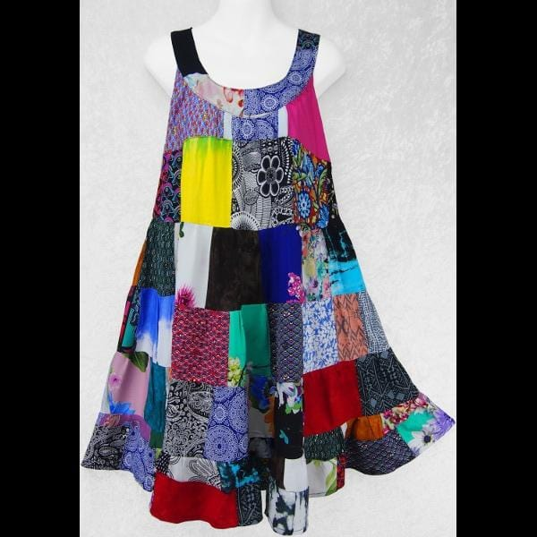 Alysanne's Patchwork Dress-Patchwork Clothing-Peaceful People