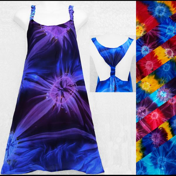 Tie-Dye Adjustable Dress-Dresses-Peaceful People