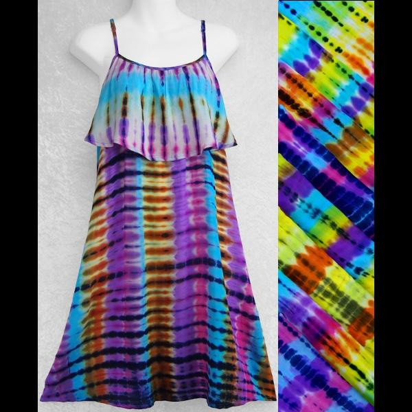 Antique Tie-Dye Moon Dress-Dresses-Peaceful People