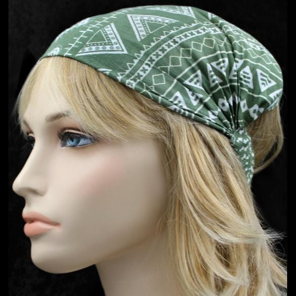 12 Relax Mix Print Elastic Bandana-Headbands ($1.60 each)-Bags & Accessories-Peaceful People