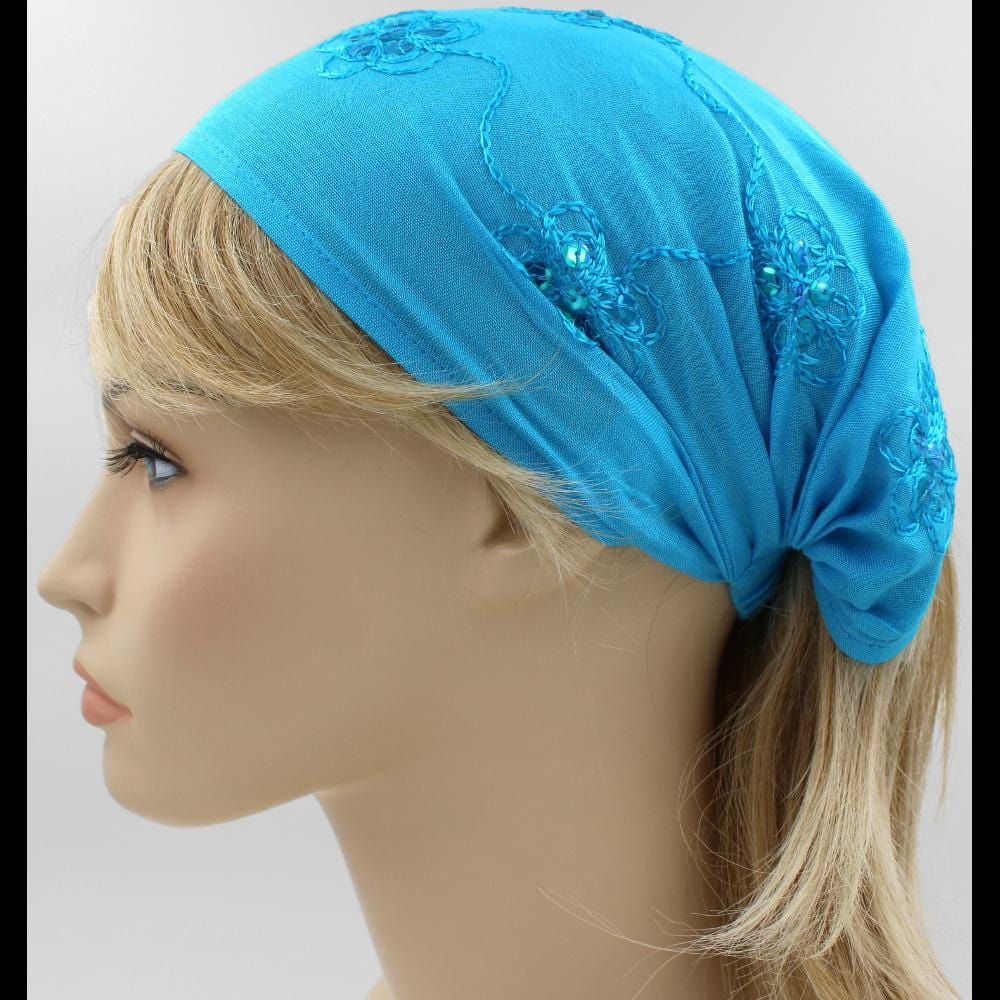 12 Embroidered Elastic Bandana-Headbands ($2.25 each)-Bags & Accessories-Peaceful People