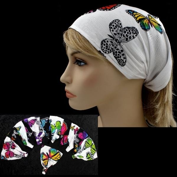 12 Monarch Elastic Bandana-Headbands ($1.60 each)-Bags & Accessories-Peaceful People