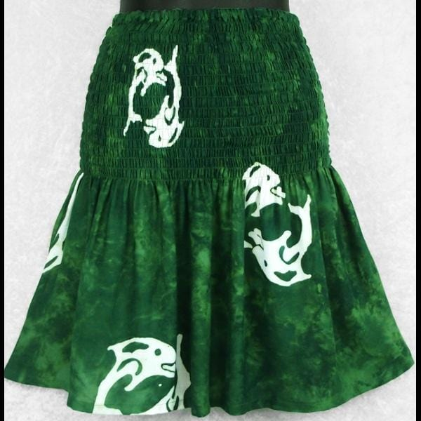 Single-Process Batik Baby Doll Convertible Top/Skirt-Tops-Peaceful People