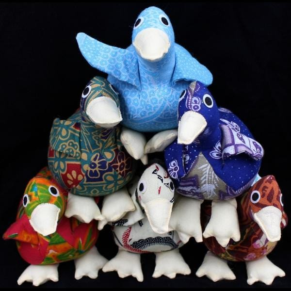 Antique Batik Duck-Handicrafts-Peaceful People