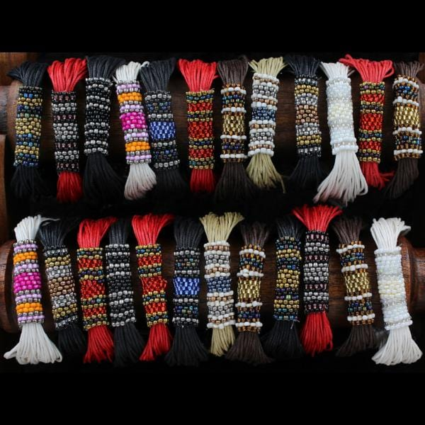 12 Ritz Beaded Bracelets ($1.33 each)-Bracelets & Jewelry-Peaceful People