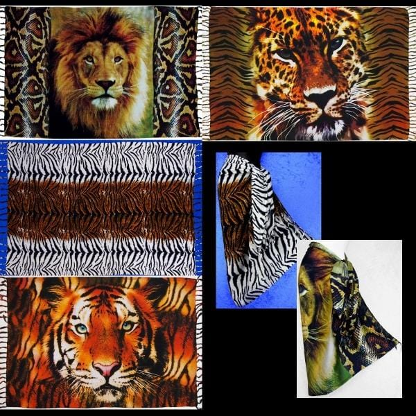 Big Cat Sarongs-Sarongs-Peaceful People