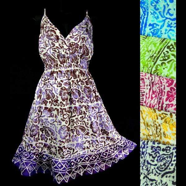 Batik Bloom Star Dress-Dresses-Peaceful People