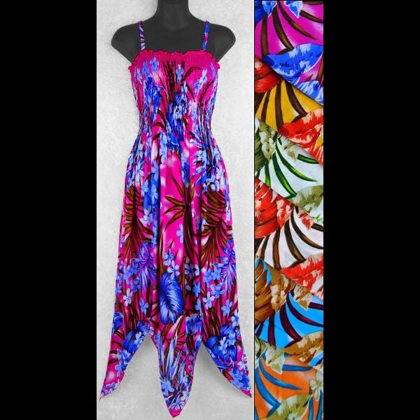 Botany Fairy Sarong Dress-Dresses-Peaceful People